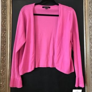 Gorgeous Pink sweater with ruffled sleeves